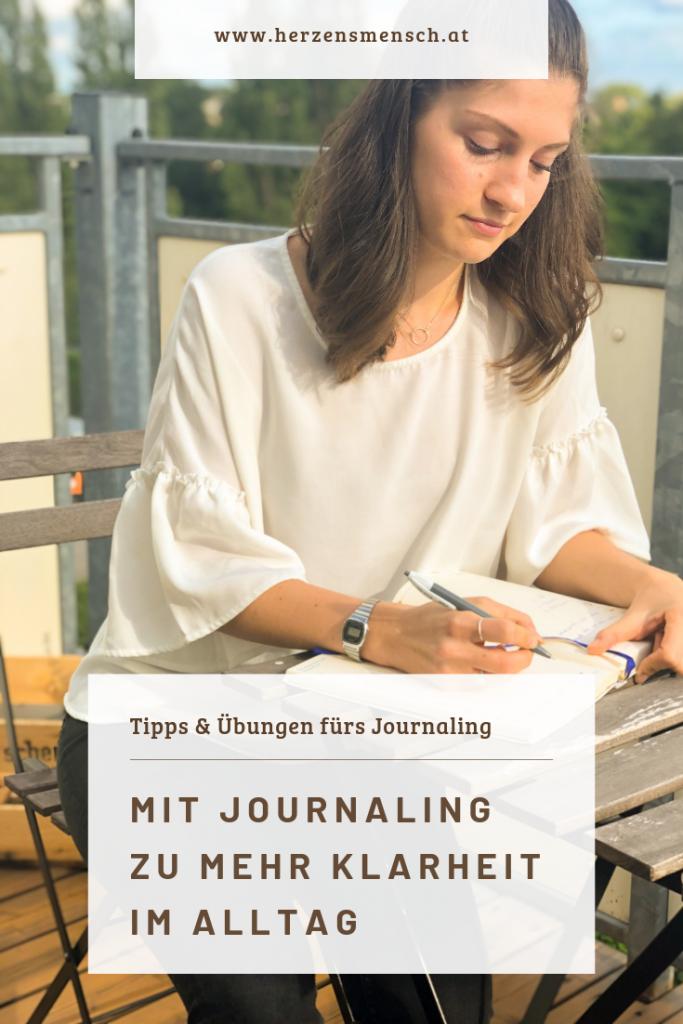 Wie dir Journaling dabei hilft mehr Klarheit im Alltag zu erlangen.