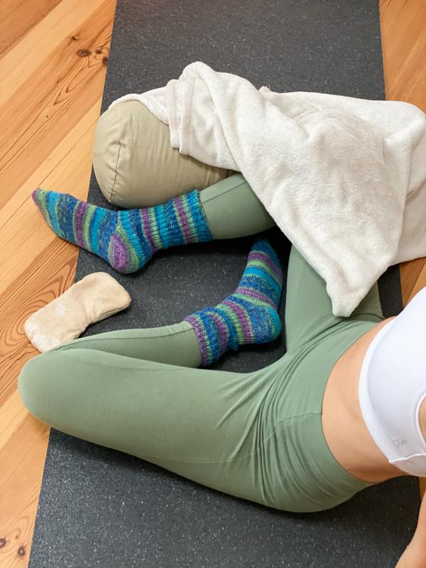 Yoga Haltung Shavasana, Endentspannung